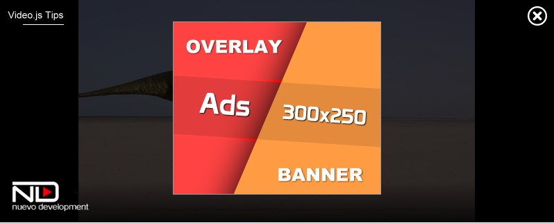 Overlay Banner Ad